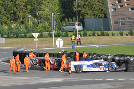Anthony Davidson Le Mans crash