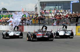 Audi wins Le Mans 2012