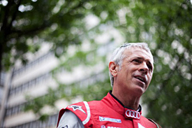 Rinaldo Capello has probably fought for his last win at Le Mans