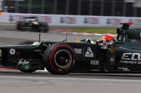 Heikki Kovalainen, Caterham, Montreal 2012