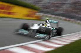 Nico Rosberg, Mercedes, Montreal 2012