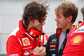 Alonso, Vettel 'could coexist' at Ferrari