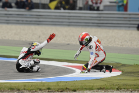 It all went wrong for Lorenzo on lap one at Assen last year