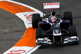 Pastor Maldonado, Valencia, 2012
