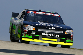Nelson Piquet, NASCAR Nationwide, Road America 2012