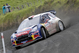 Sebastien Loeb, Citroen, New Zealand 2012
