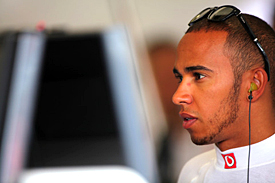 Lewis Hamilton, Valencia, 2012