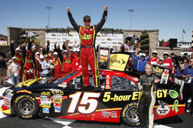 Clint Bowyer wins at Sears Point