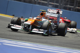 Nico Hulkenberg, Force India, Valencia 2012