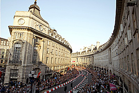 London F1 parade, 2004