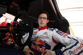 Thierry Neuville Citroen junior WRC 2012