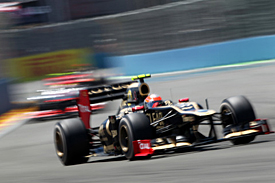 Romain Grosjean, Lotus, Valencia 2012