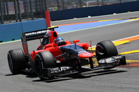 Charles Pic, Marussia, Valencia 2012