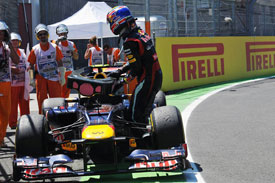 Mark Webber Red Bull Valencia 2012