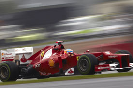 Fernando Alonso British GP 2012