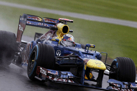 Sebastian Vettel, Red Bull, Silverstone 2012