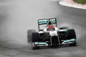 Michael Schumacher, Mercedes, Silverstone 2012