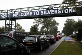 Silverstone traffic