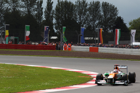 Paul di Resta, Force India, Silverstone 2012