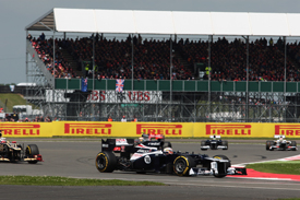 Pastor Maldonado, Williams, Silverstone 2012
