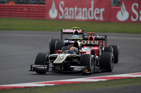 Esteban Gutierrez, Lotus, Silverstone 2012