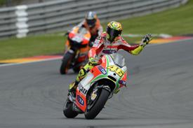 Valentino Rossi, Ducati, Sachsenring 2012