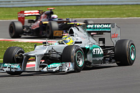 Rosberg urges Mercedes to raise game