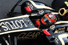 Romain Grosjean Lotus 2012