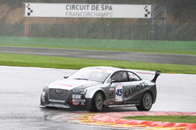 Gianni Morbidelli, Audi Italia, Spa 2012