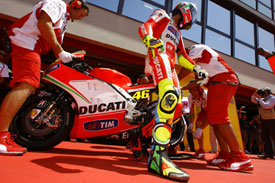 Valentino Rossi Mugello 2012