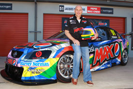 Jacques Villeneuve V8 Supercars