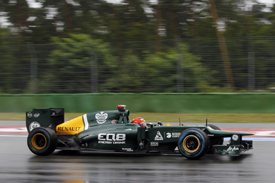 Heikki Kovalainen, Caterham, Hockenheim 2012