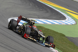 Romain Grosjean, Lotus, Hockenheim 2012