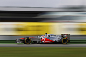 Jenson Button, McLaren, Hockenheim
