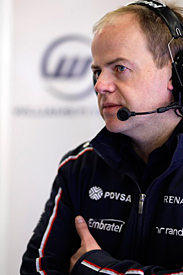 Mark Gillan, Williams chief operations engineer
