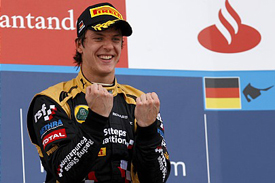 James Calado wins at Hockenheim