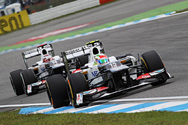 Sauber duo say better result possible