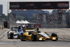 Helio Castroneves wins at Edmonton