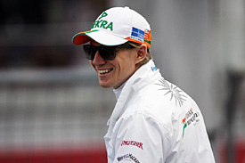 Hulkenberg helped with ticket sales