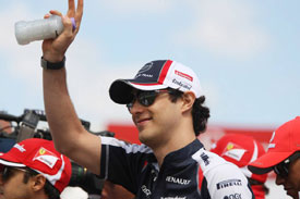 Bruno Senna Williams 2012