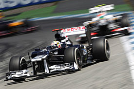 Pastor Maldonado, Williams, Hockenheim, 2012