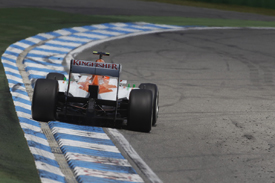 Nico Hulkenberg, Force India, Hockenheim 2012