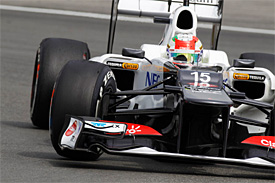 Sauber sets sights on fifth position