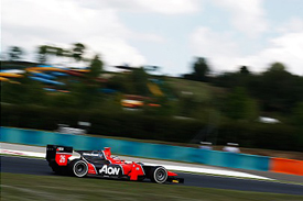 Max Chilton, Carlin, Hungary 2012