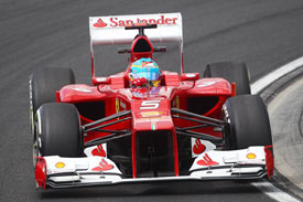 Fernando Alonso Ferrari 2012