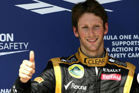 Romain Grosjean Hungary 2012
