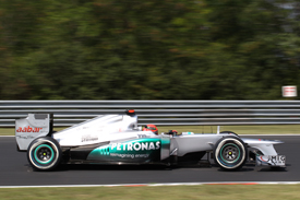 Michael Schumacher Mercedes 2012 Hungarian Grand Prix