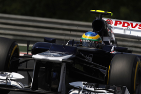 Bruno Senna Williams Hungarian Grand Prix 2012