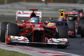 Fernando Alonso, Ferrari, Hungaroring 2012