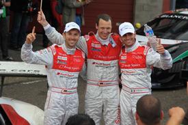 Frank Stippler, Rene Rast and Andrea Piccini win Spa 24 Hours